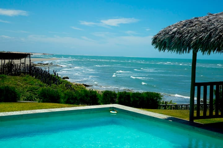 Casa Atlantica : Plage de Pontal do Maceio - Fortim - Huis