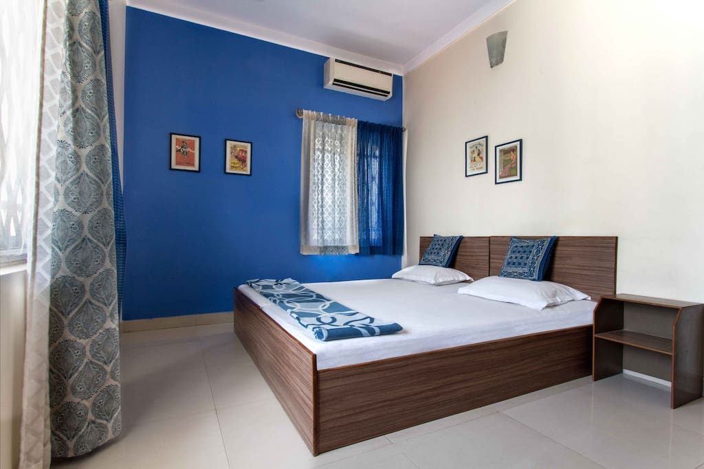 The Blue room is a spacious and airy room