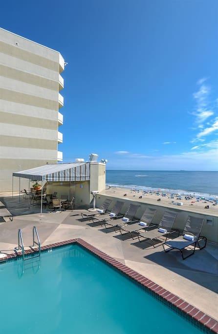 Beach Quarters Resort Oceanfront Studio Serviced