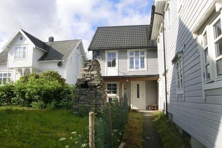 Huset i sentrum