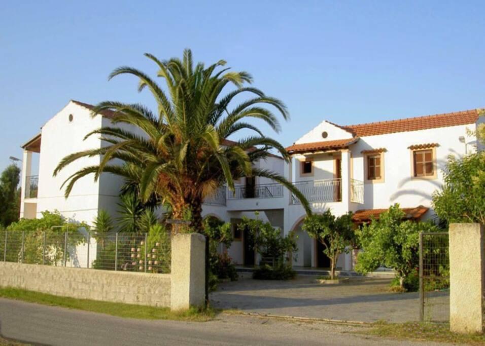 Entrance to Sofia Apartments