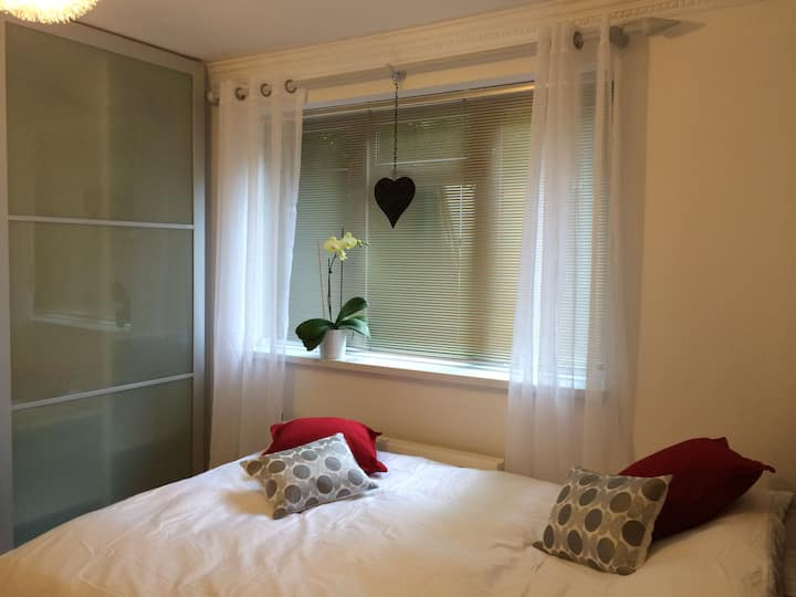 A contemporary double room in East Finchley N2