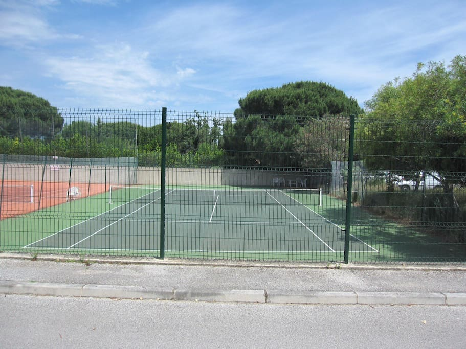 Tennis. Accès gratuit