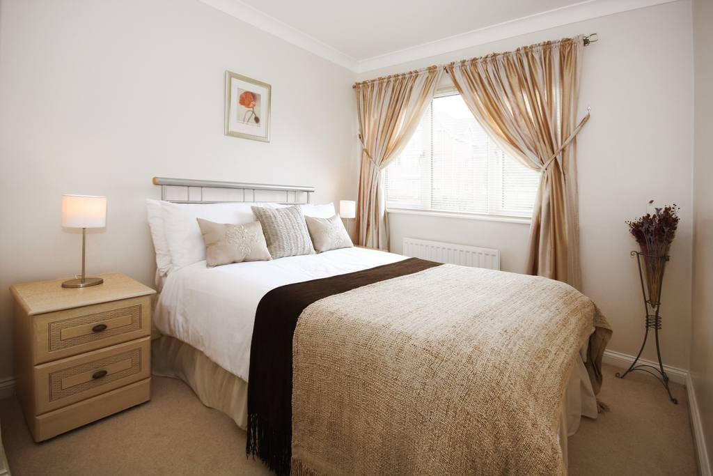We have a number of apartments in Gray Place, and the photos here are an example of the standard, and furnishings.