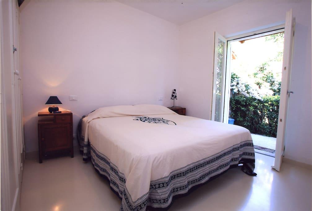 Una delle due camere da letto...
