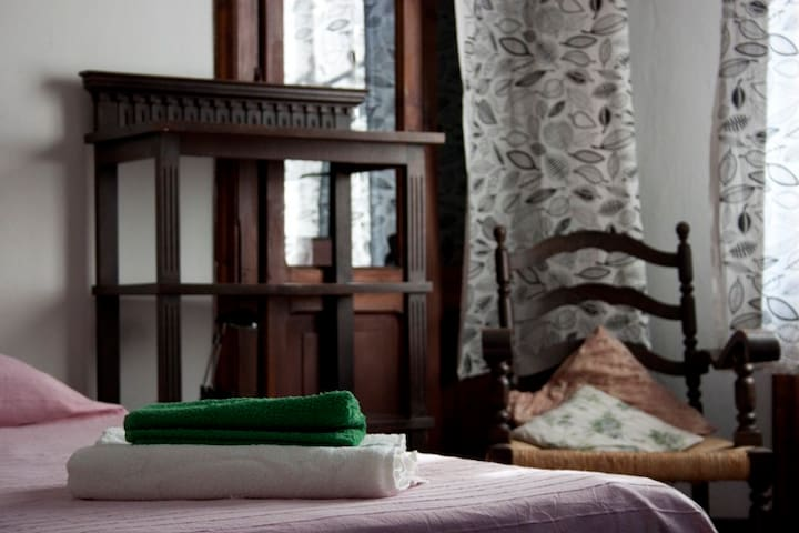 Single or double bed on request