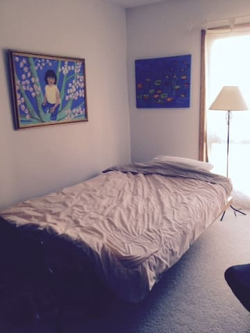 Sunny and cozy private room - Wilmette