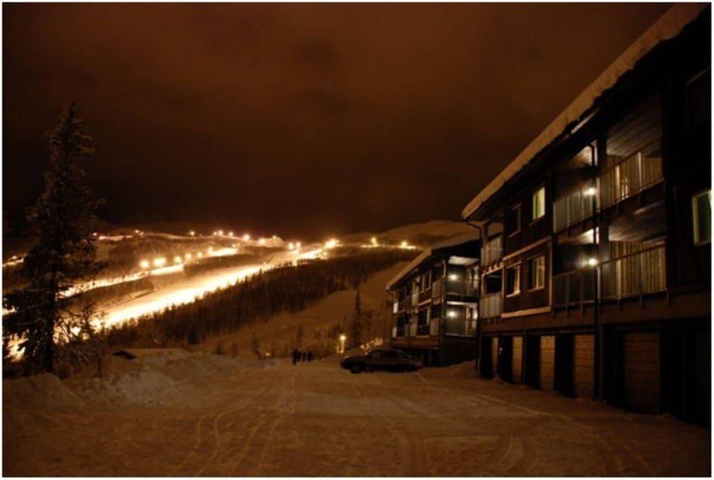 Koselig leilighet med fantastisk utsikt og ski in and out.