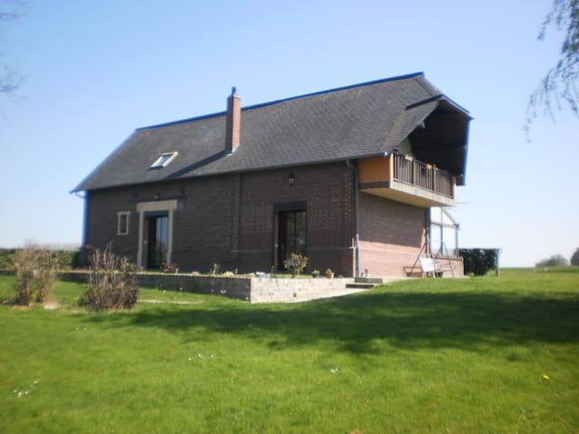 Chambre chez l'habitant - Bouville - ที่พักพร้อมอาหารเช้า