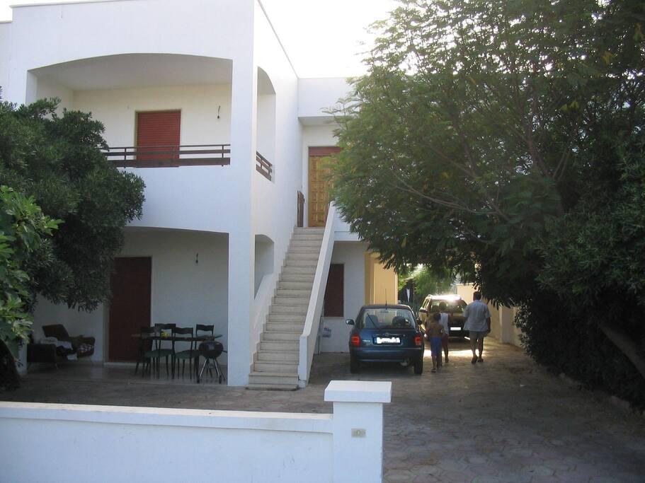 Ingresso appartamento Alba al primo piano