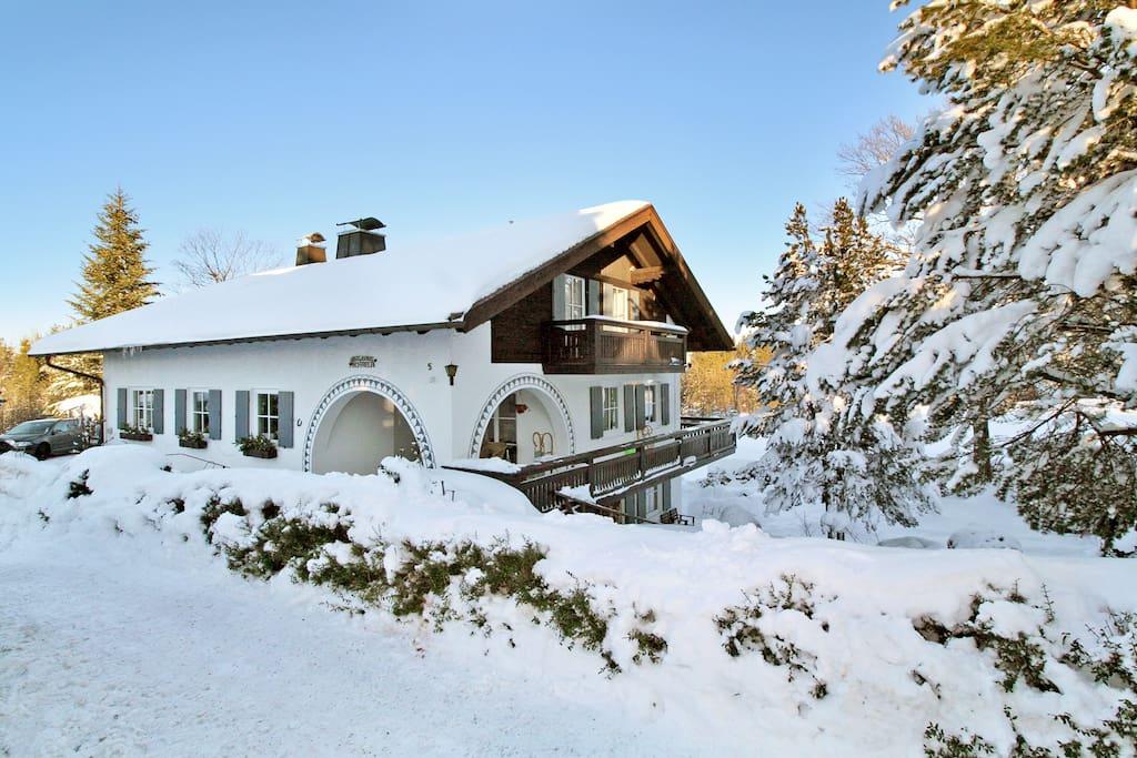 Gästehaus Michaela Im Winter