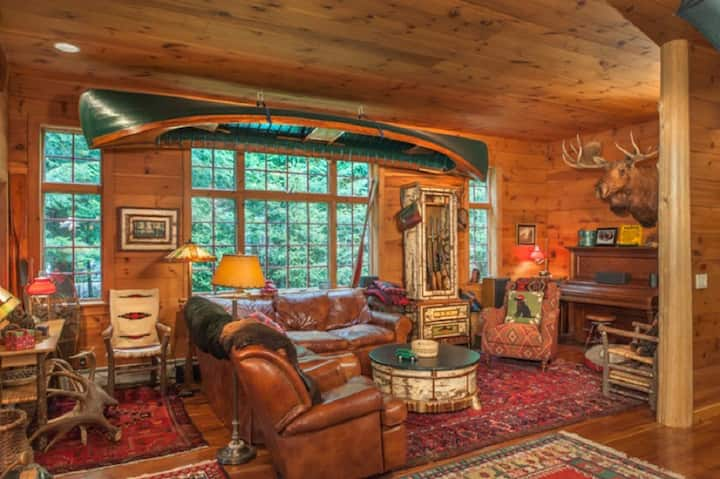 Adirondack Great Camp Style Home