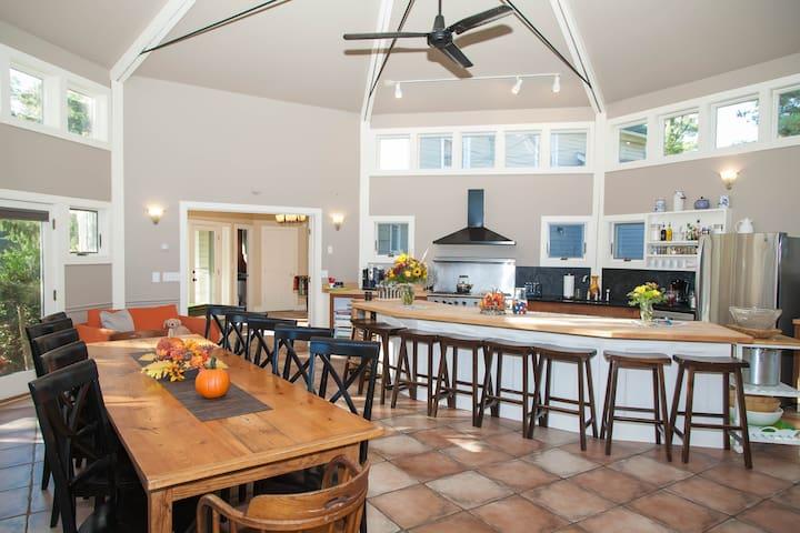 Rhinebeck Luxury Farmhouse/Kitchen Estate
