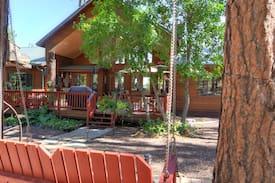 cabin arrival lodging vacation in pines hills adventure peak cabins black pinetop rentals