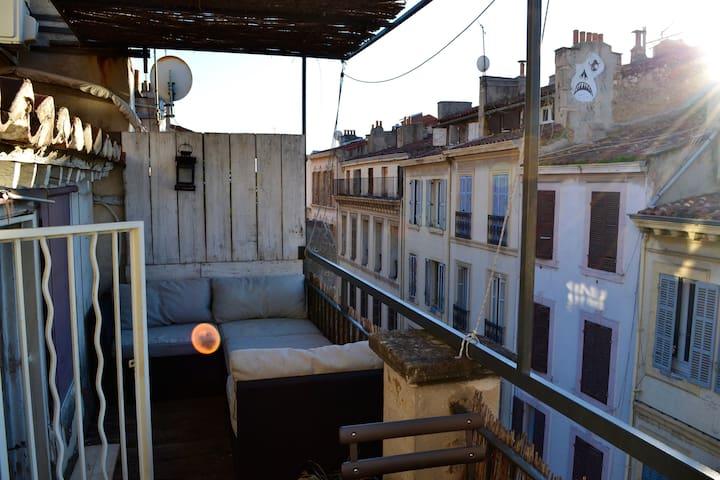 Marseille on the roofs - Marseille
