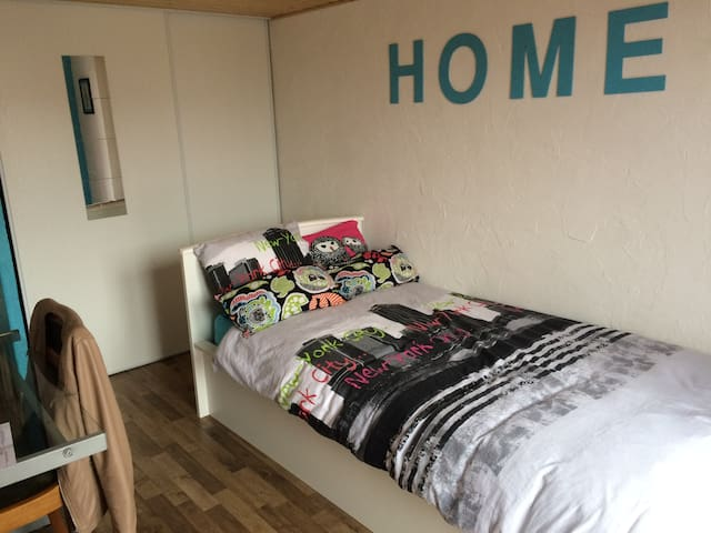 B&B Home 10 min ride from stadium - Jonage - Bed & Breakfast