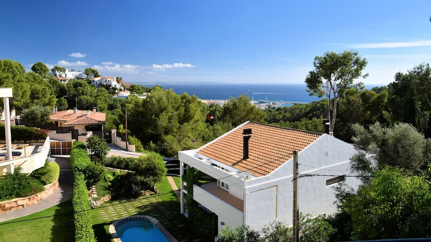 Villa With Private Pool And Sea View - Costa d'en Blanes - Villa