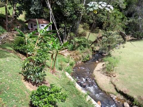 Villa Campestre Enseguida del Tequendamita
