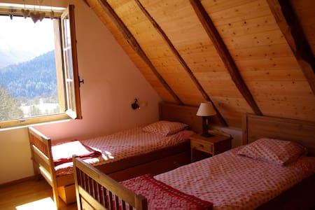 giteauberge La Soulan chambre tween - Bagnères-de-Luchon - Natur lodge