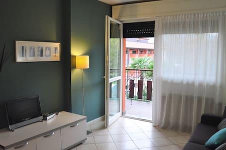 BLUE - Cozy studio in RESIDENZA SASSO MORO - Leggiuno - Kondominium