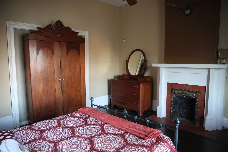 Antique solid wood furniture