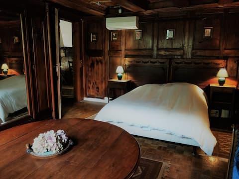 Traditionelt Alsacisk hjem