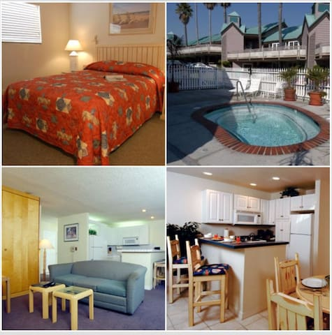 1 Bedroom TF Wyndham Pismo Beach, CA - Pismo Beach - Wohnung