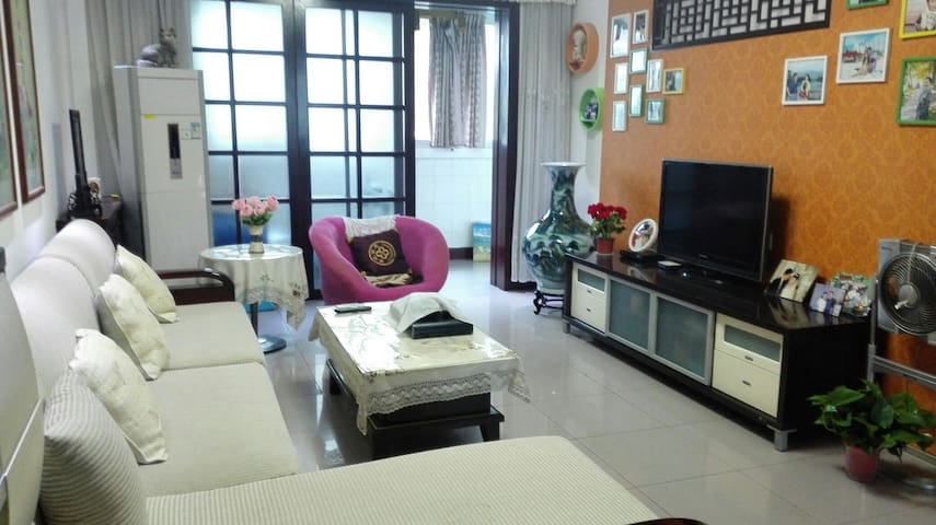 温馨舒适的独立房间,周围交通餐饮方便,可停车 - Zhengzhou - Wohnung