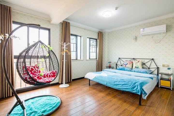 长沙机场格林之家 北欧风情套房 一居室 (包接送机)