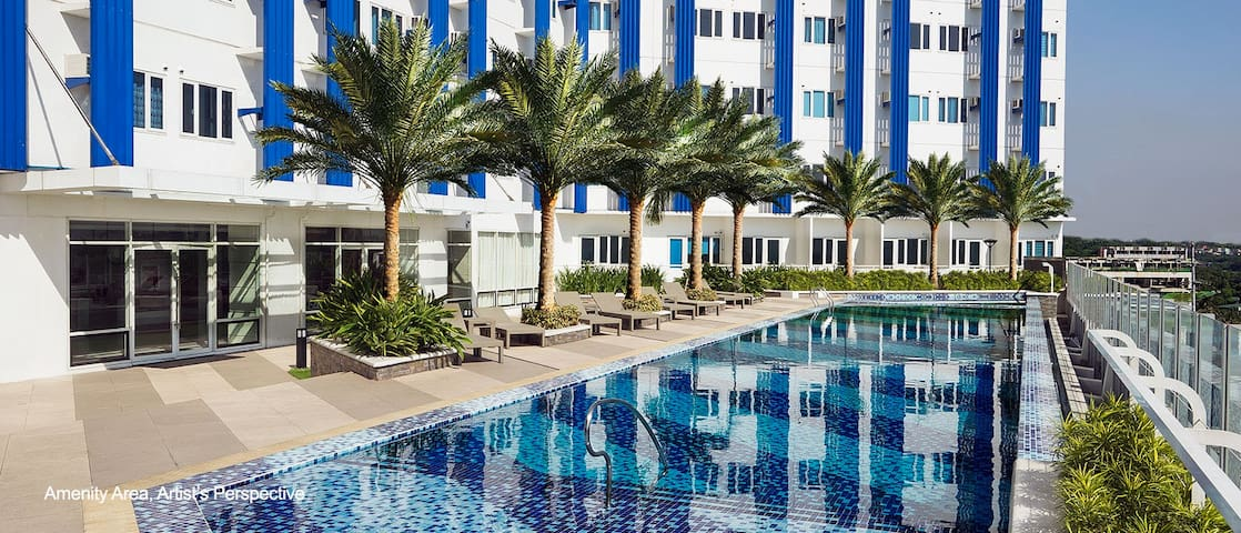 1 Bedroom - Blue Residences, Katipunan,Quezon City