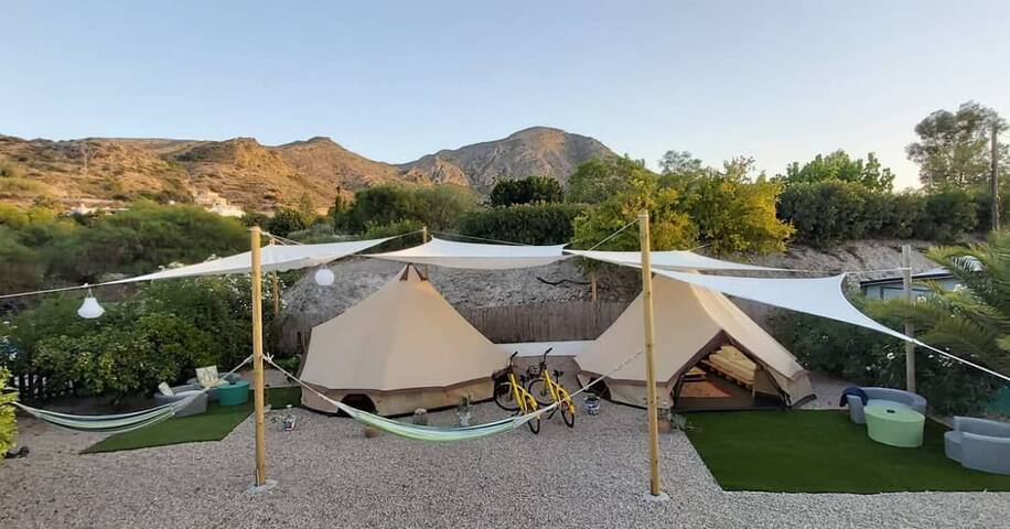 Glamping Tent Tiare