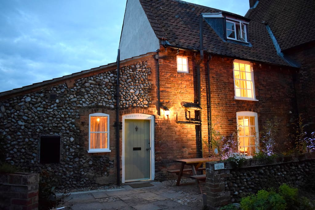 Situated in a private loke in the heart of the town