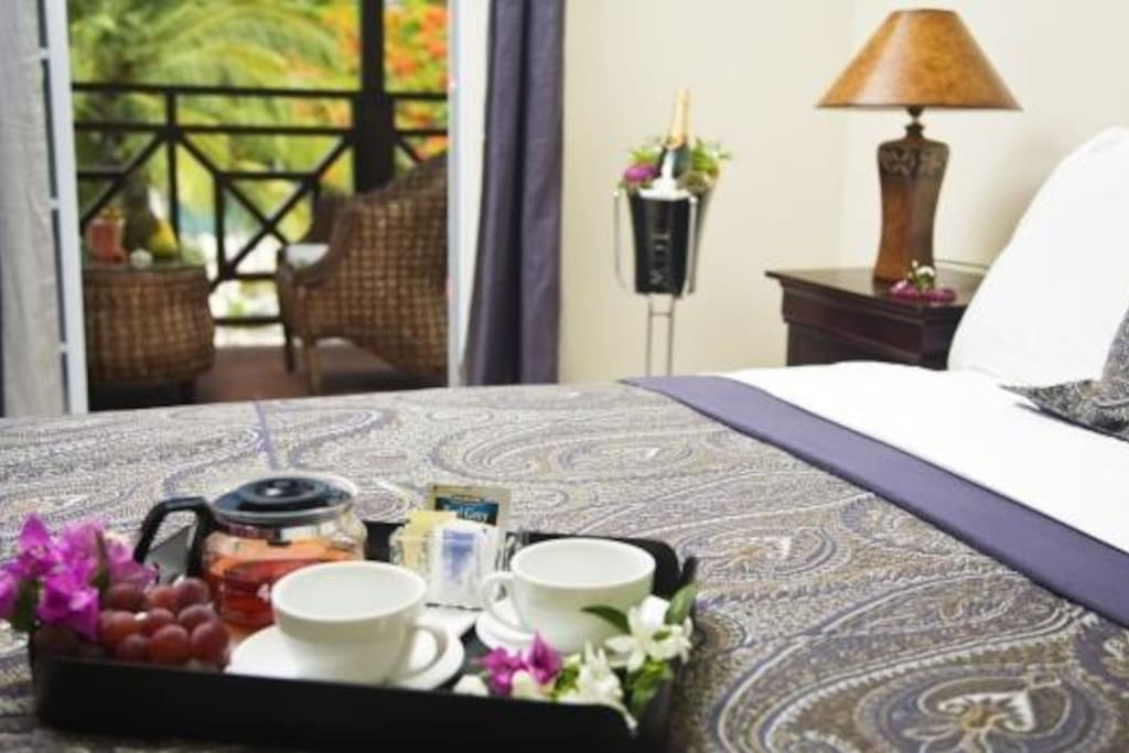 Special room service
