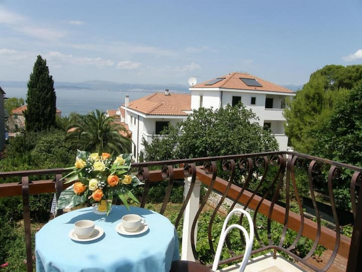 Villa Renipol - Studio  Apartment with Balcony and Sea View (Apt 3)