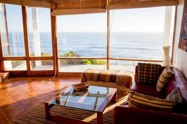 Living y terraza