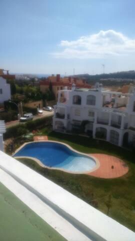 Habitacion individual con baño playa
