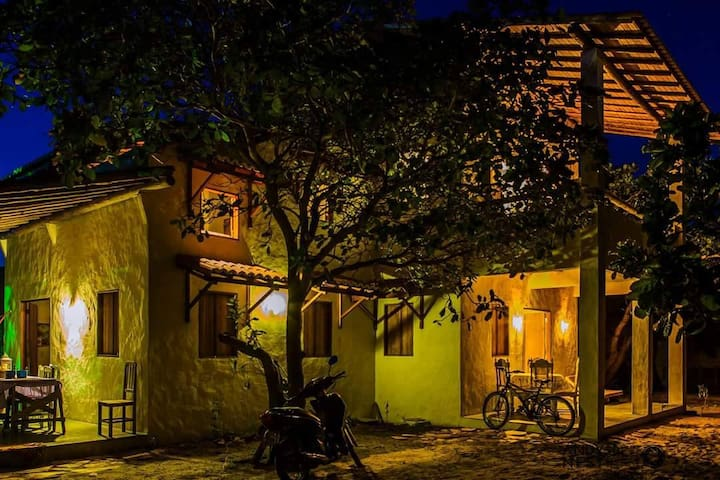 Casa Duplex mobiliada com charme - São Miguel do Gostoso - House