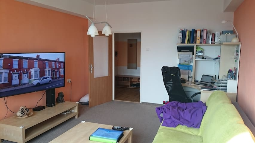 Clean apartment in a quiet area in a nice town - Louny - Apartment