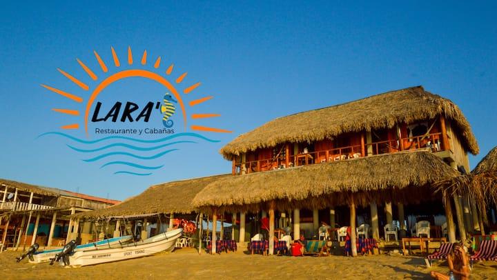 Cabaña con vista al mar en Bahía San Agustín