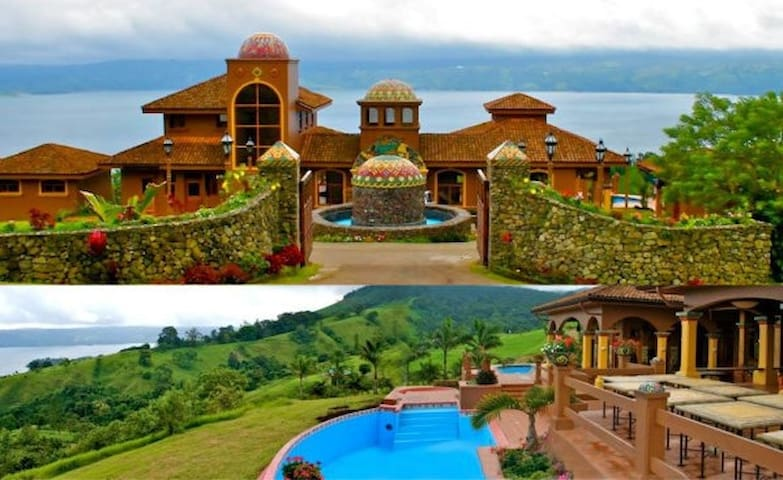 Villa in Lake Arenal. - tilaran - วิลล่า