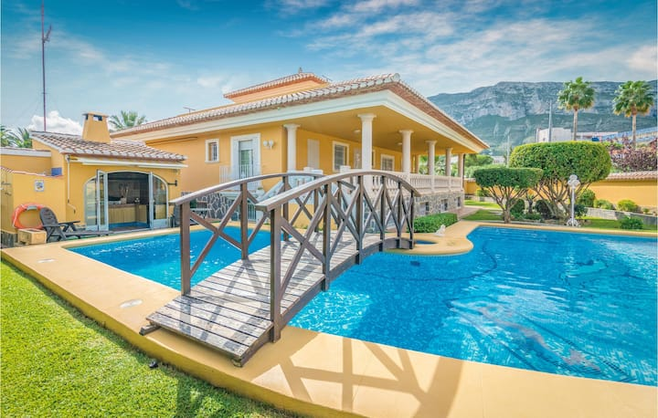 Stunning home in Denia with 7 Bedrooms