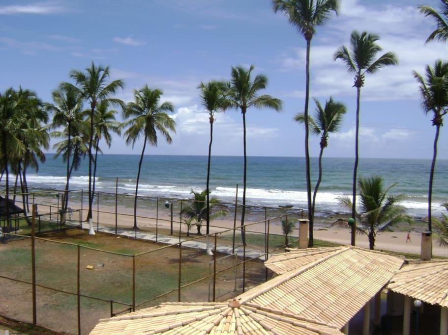 Vista panoramica da praia - Varanda