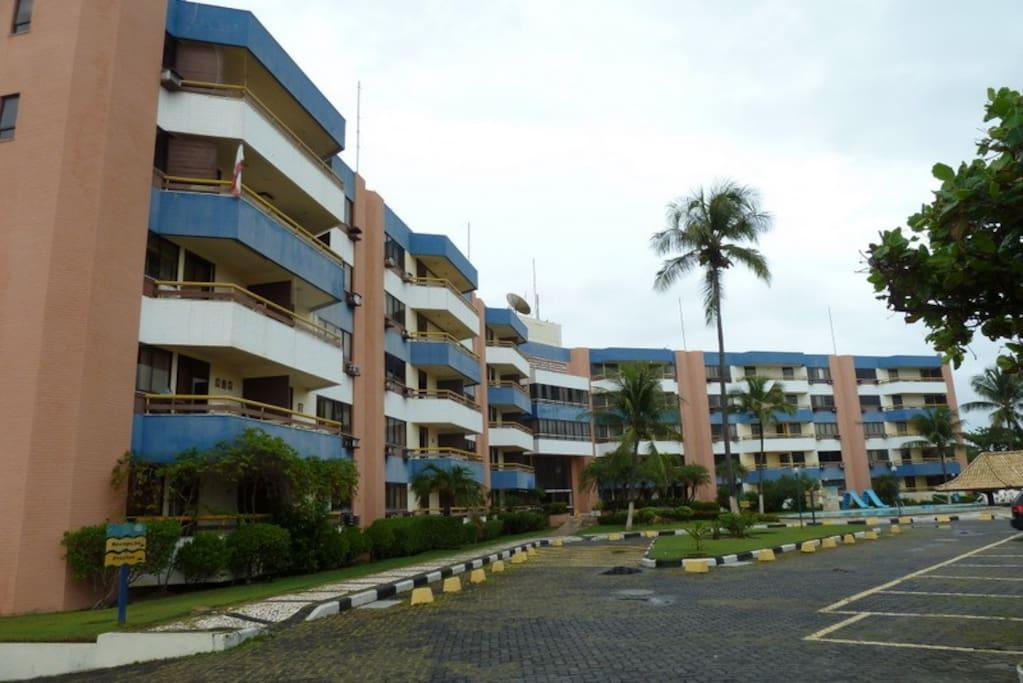 Complexo Vilas Village e entrada para Recepção