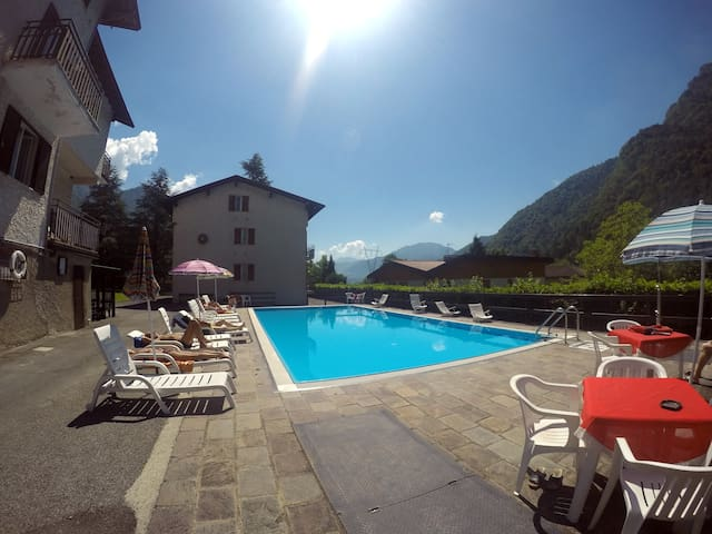 Apartament with swimming pool - LEDRO - Byt