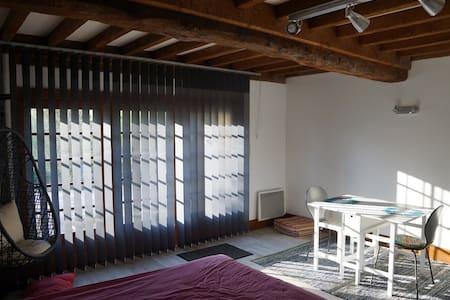 Joli studio dans un parc arboré - Préaux-Bocage - Ev