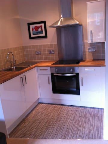 New modern kitchen.
