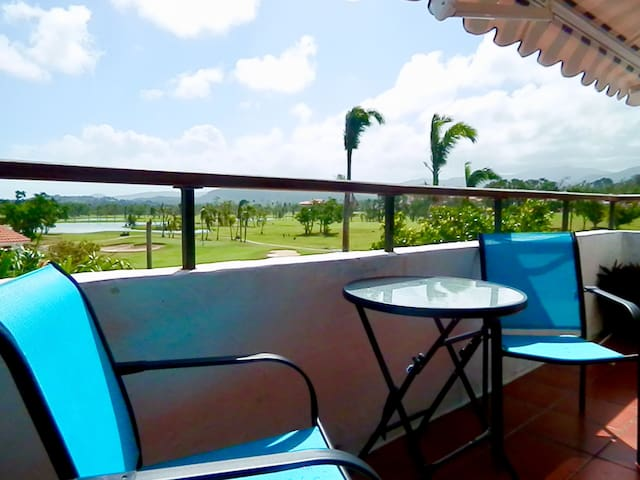 Romantic private villa at Wyndham Rio mar resort