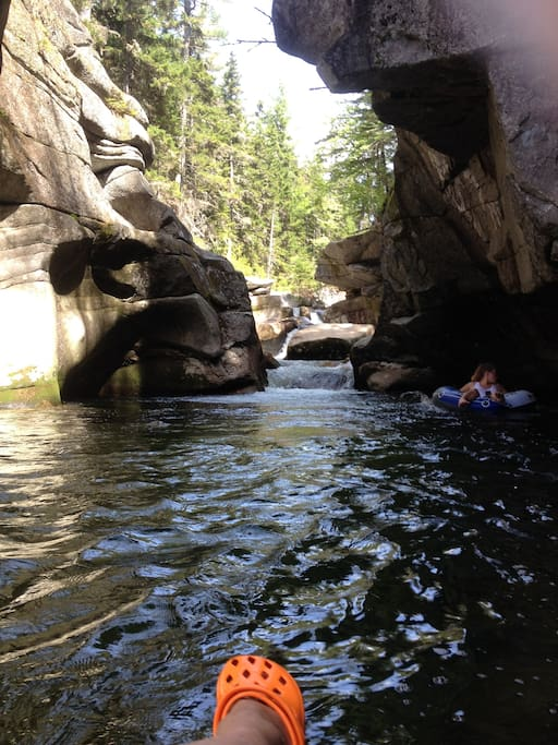 We can show you where the most relaxing river spots are.