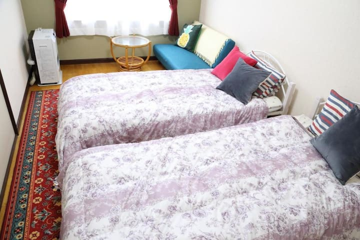 10 min to Jozankei Onsen!5 min to ski area!A homely inn【With breakfast】【2 pax】
