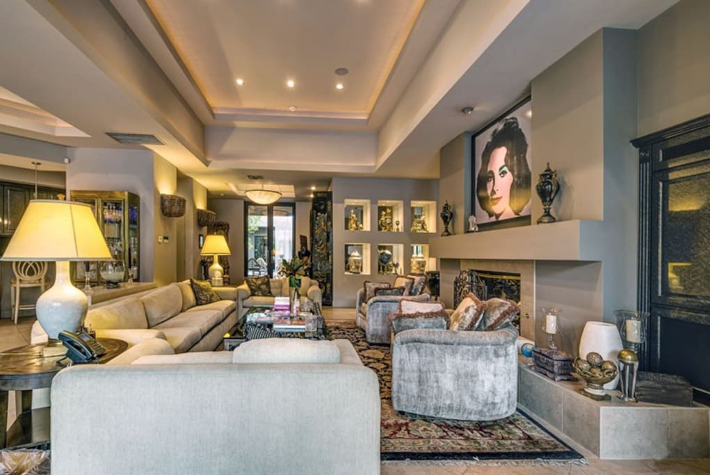 Another View of the Exquisitely Furnished Living Room